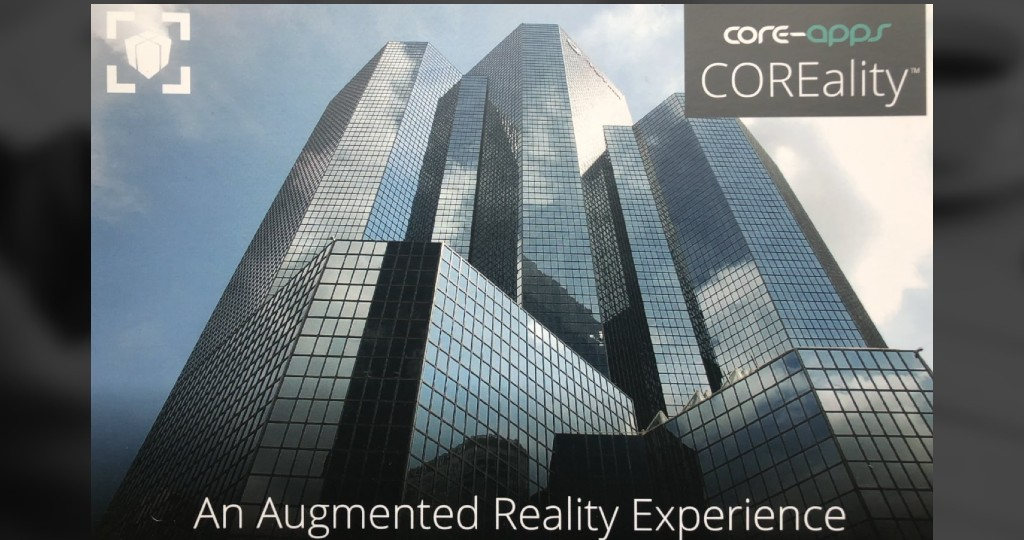 Core-apps AR enhanced architecture post cards